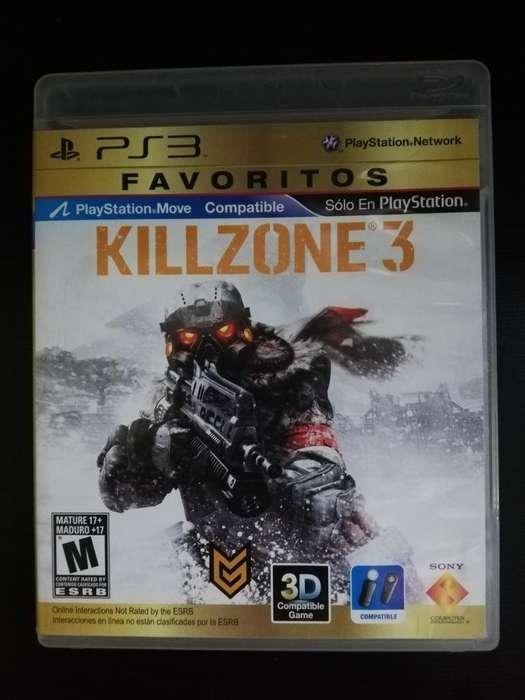Killzone 3 Play 3 Ps3 Cambio O Vendo