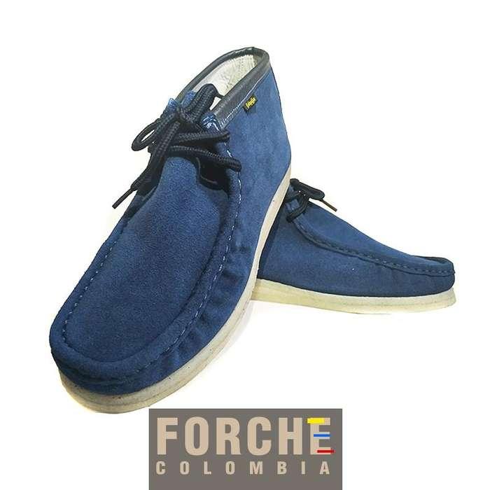 Auténticos FORCHE color azul, Somos fabricantes. Ventas directas