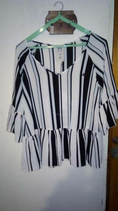 Camisa Crepe