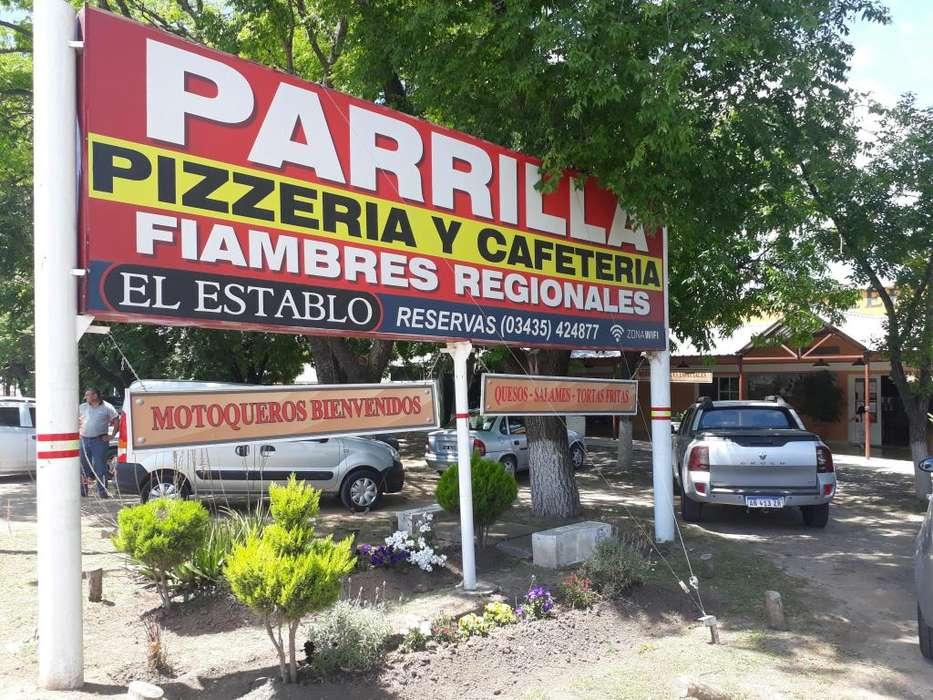 VENDO DUEÑO . PARRILLA PIZZERIA CAFETERIA ..