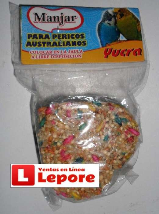 Manjar para Aves Pericos Canario Agapornis por 1 unidad.