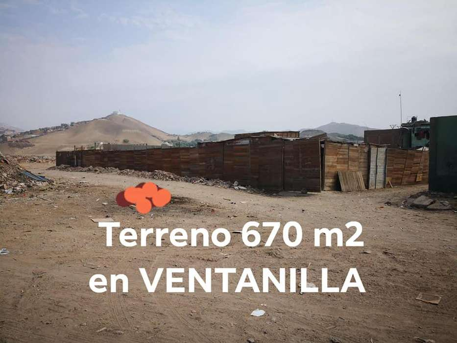 OCASIÓN VENDO TERRENO EN ESQUINA DE 670 M2 EN VENTANILLA