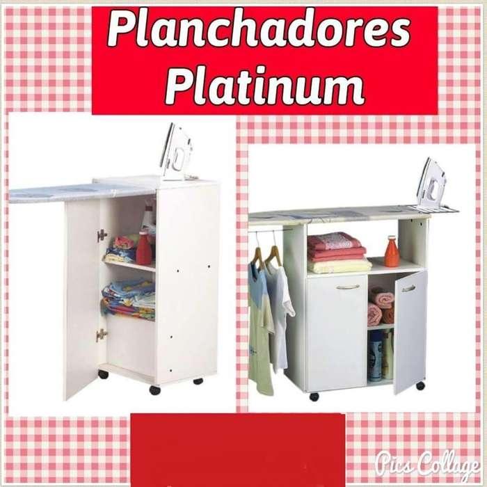 Planchador rebatible y funcional Platinum // Tablas de planchar // Tu Hogar Online