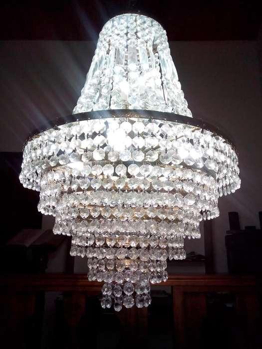 Se Vende Lámparas de Lujo en Cristal de