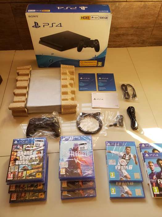 Vendo Playstation 4 Nuevas