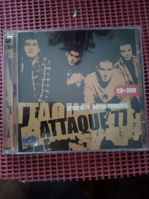 Attaque 77 Dvd Y Cd Original