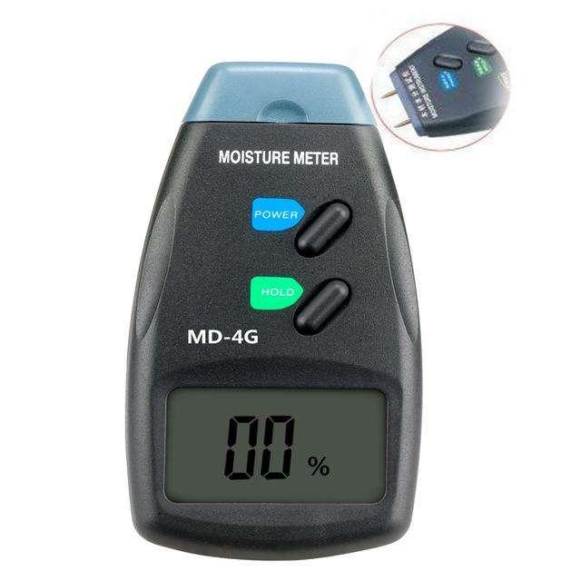 Medidor de humedad de madera 4 sensores