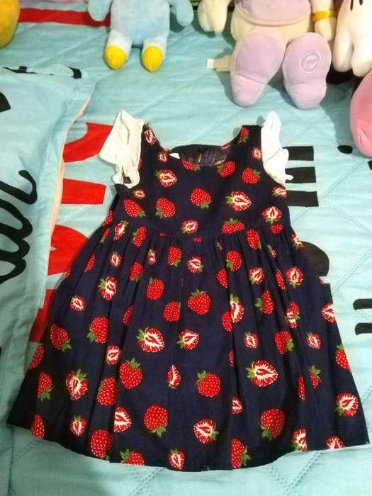 Vestido Niñ Talla 12/24