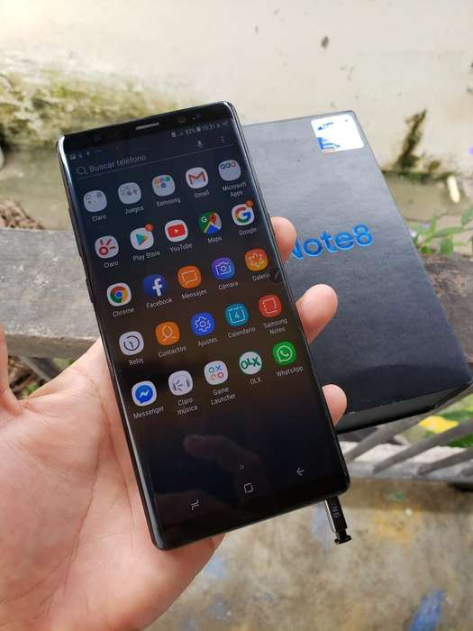 Samsung Note 8 Unico Dueño Impecable Ful