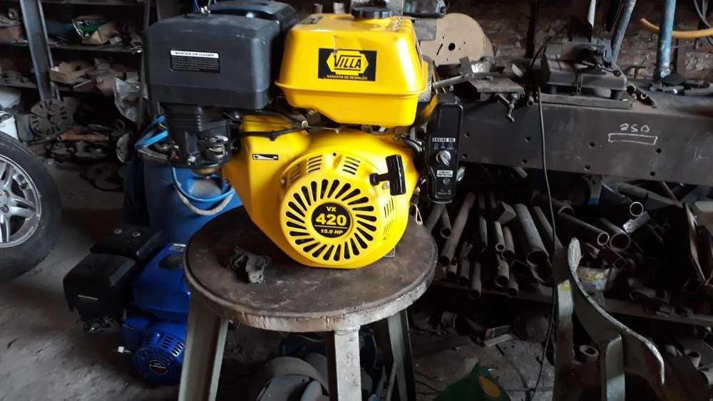 Motores a explosion, 15 hp cada uno villa y Lifan