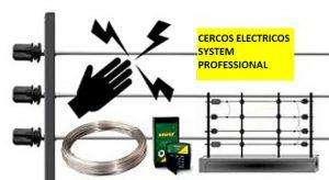 cerco electrico instalacion materiales