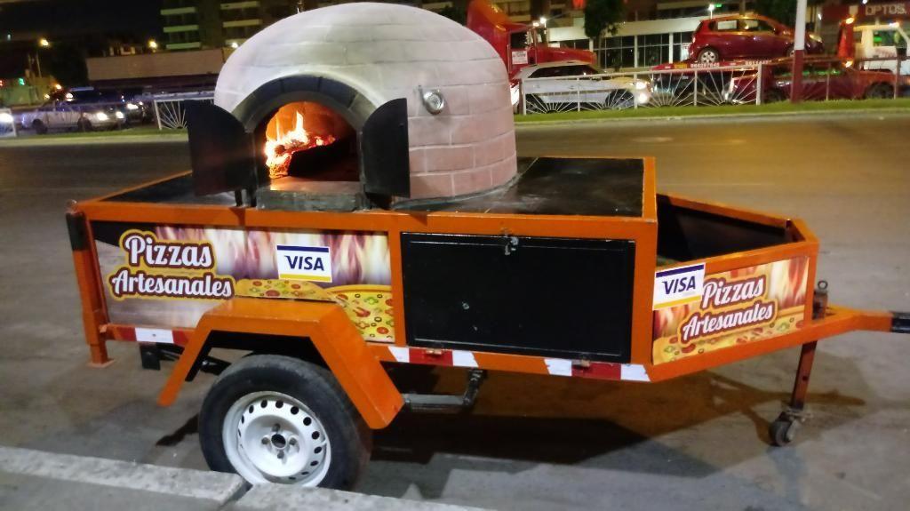 Horno Rodante Artesanal para Pizzas