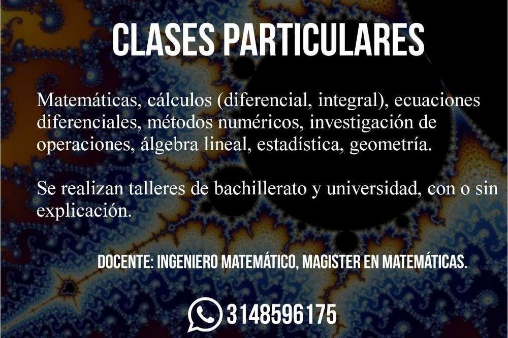 Clases Matemáticas Cualquier Nivel