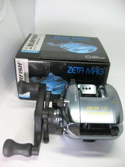 Reel Baicast Zeta Mag Surfish