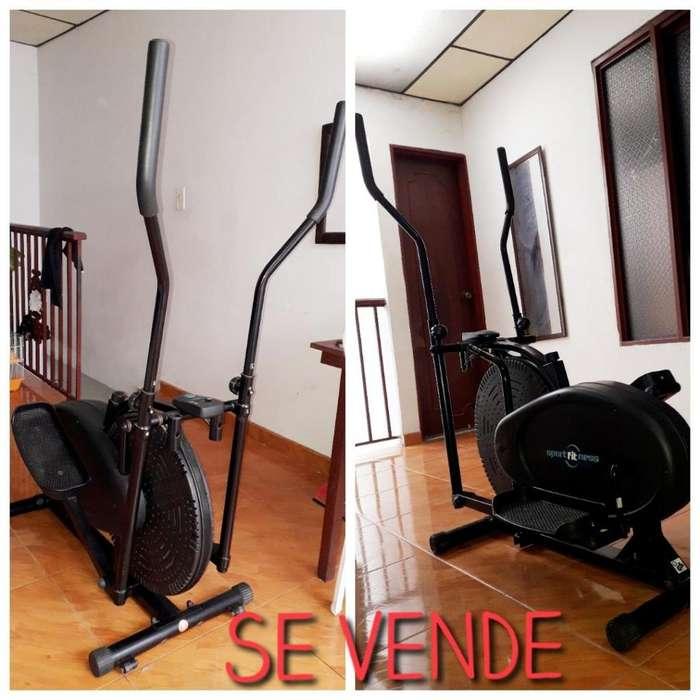 OFERTA !!! Elíptica De Banda Con Ventilador, Peso Max 80kg Sportfitness