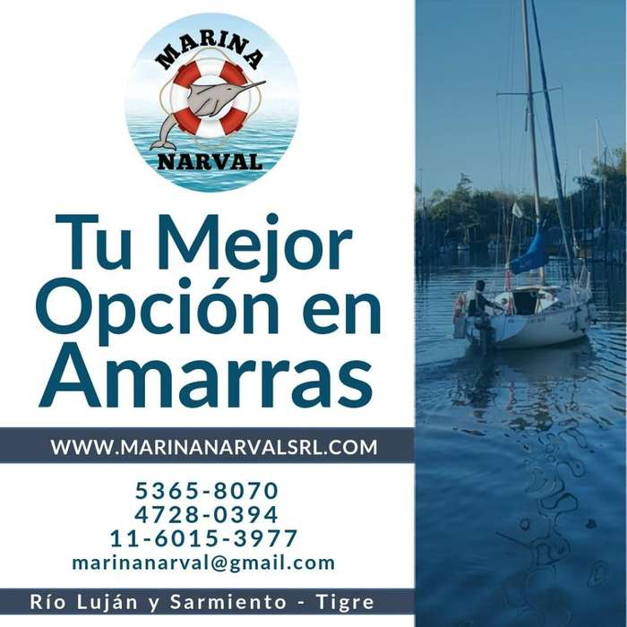 Amarras náuticas en Tigre