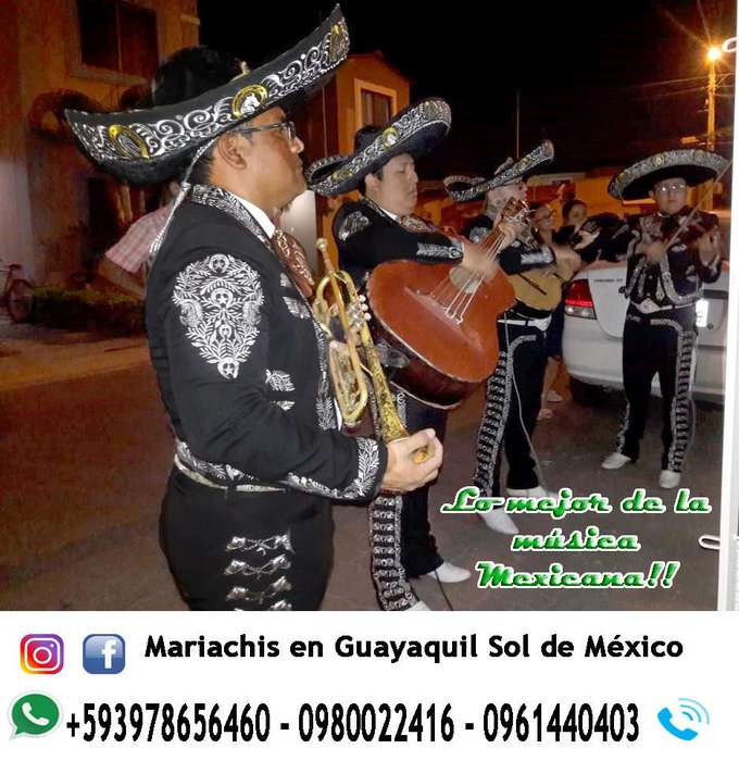 mariachis eventos, sorpresas, fiestas - 0961440403
