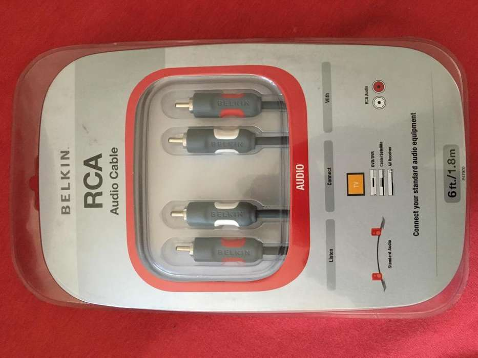 Cable RCA BELKIN 1.8m