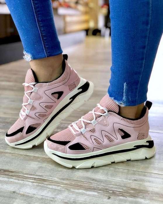 Zapato Tennis Deportivo Dama