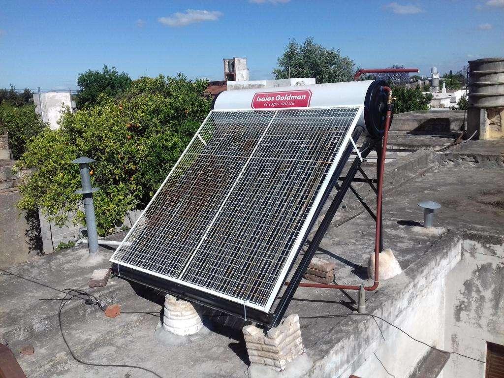 Termotanque solar 200lts