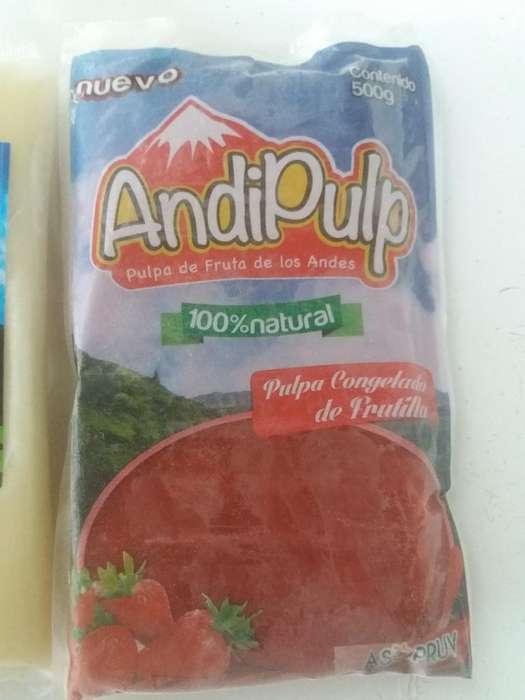 Pulpas de Frutas Congelada