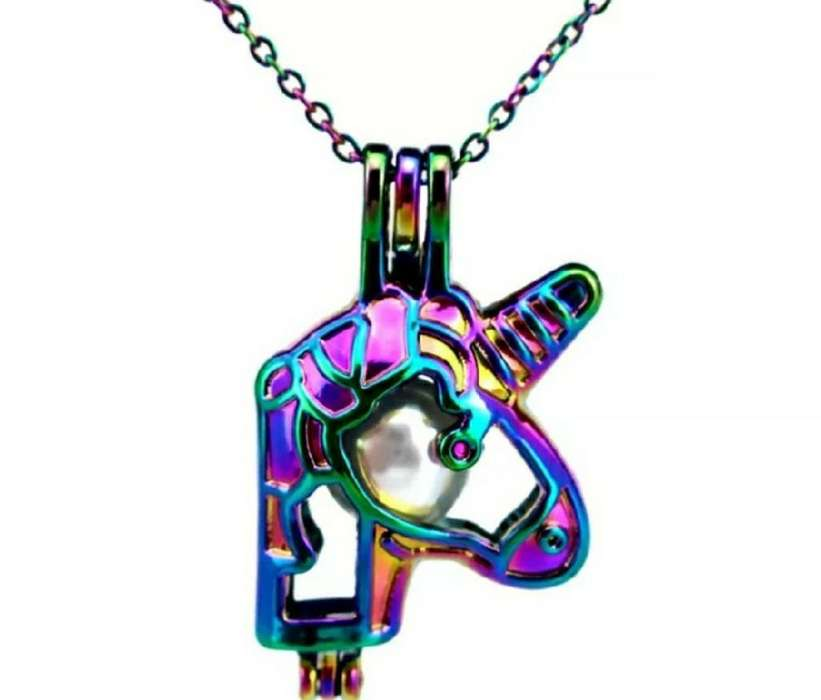 Collar Unicornio Multicolor