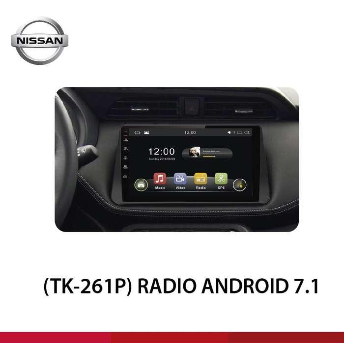 RADIO ANDROID 7.1 NISSAN KICKS