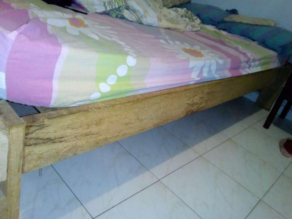 Base para cama en madera 1m x 190m