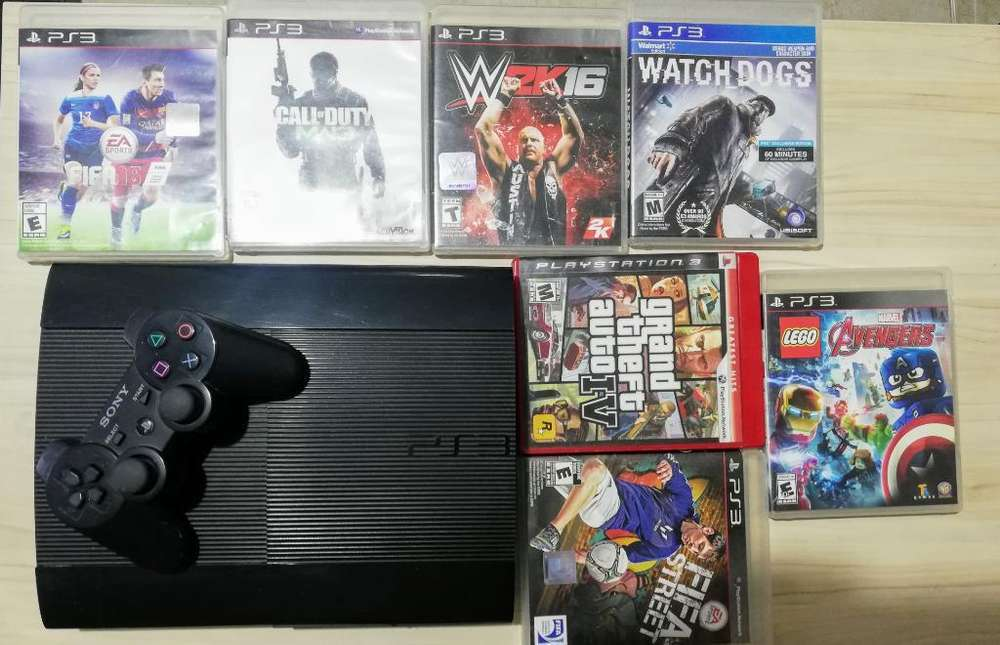 Play Station 3 - 500 Gb Juegosoriginales