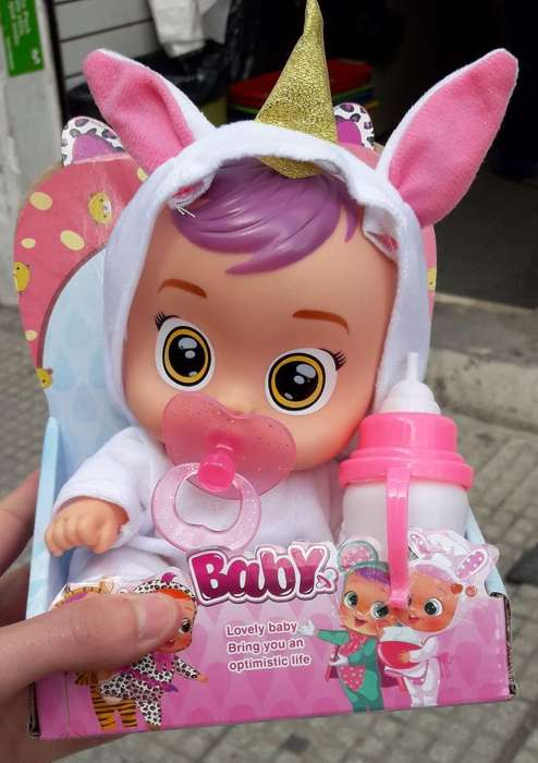 Super Promo Cry Baby Bebe Llorona