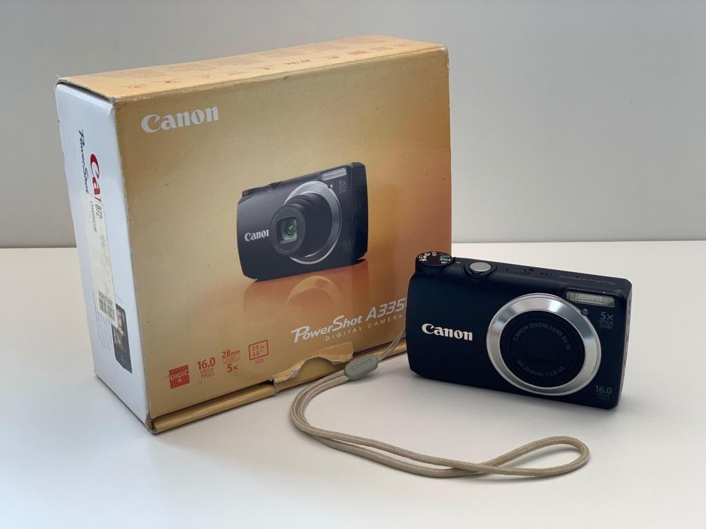 Camara Digital Canon Powershot A3350 Is