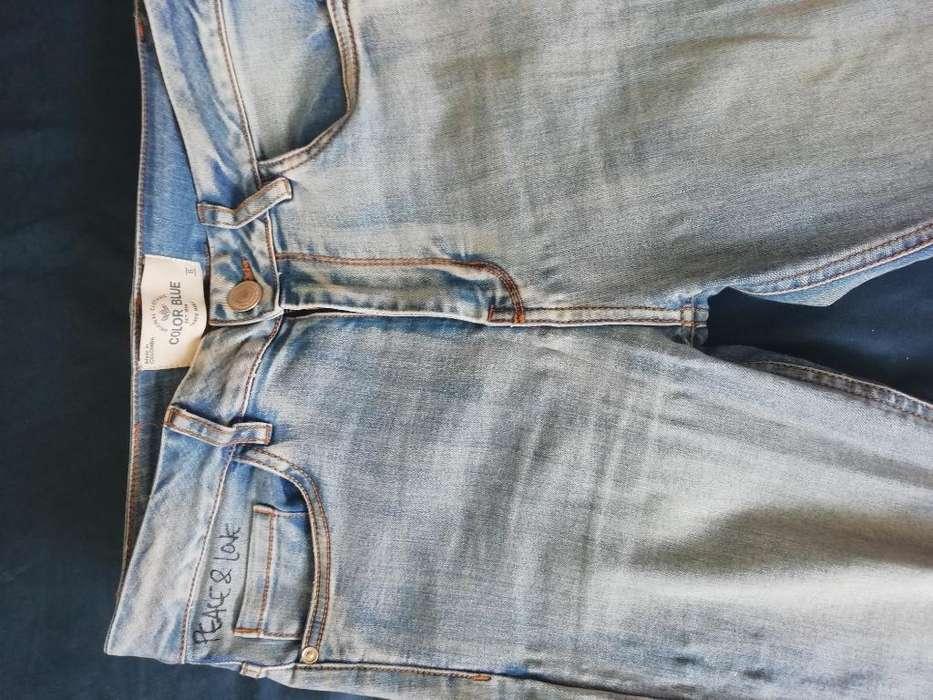 Jean Color Blue