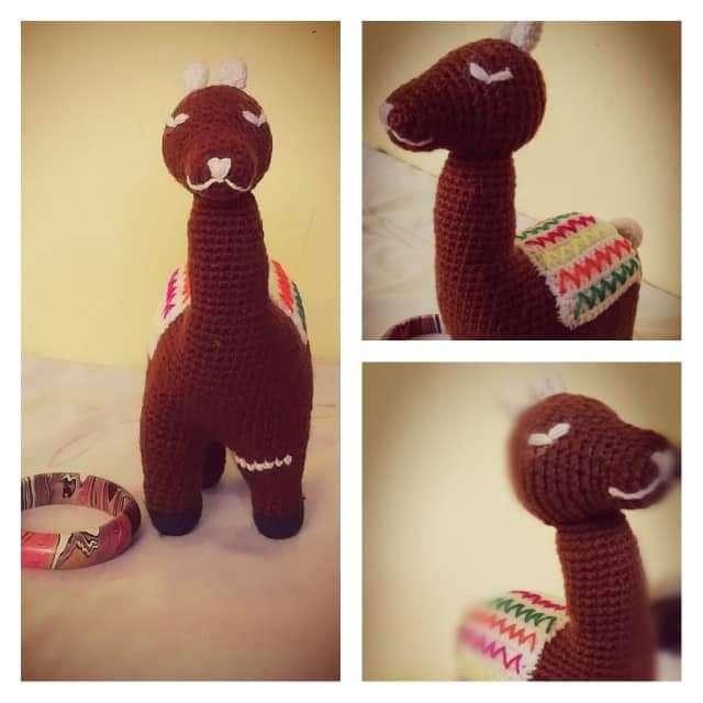 Sully la alpaca