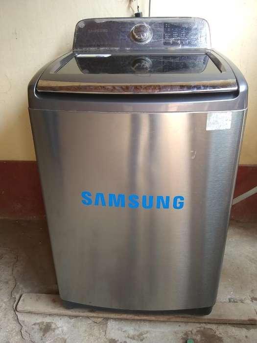 Lavadora Smart Wash Samsung 18 Kg Max.