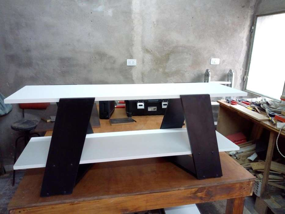 Mesa de TV estilo nórdico
