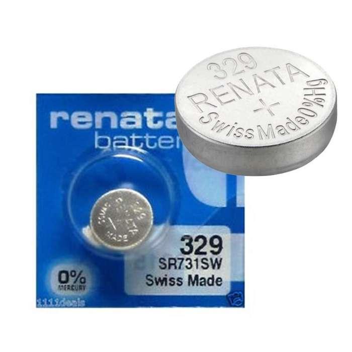 Batería marca Renata 329 Sr731sw 1.55v Blister de 10