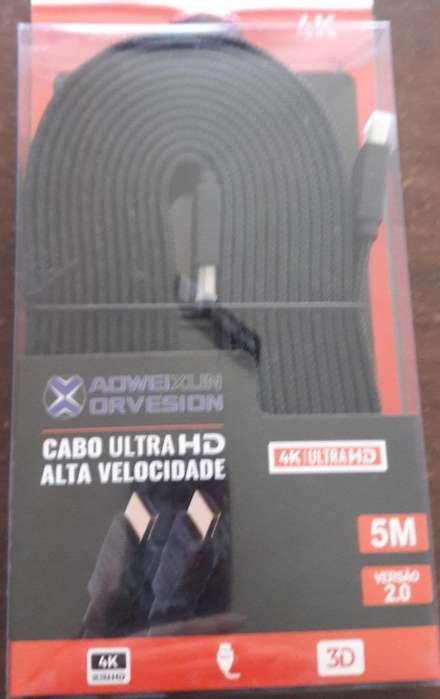 Cable HDMI Utra HD 4k de 5 metros