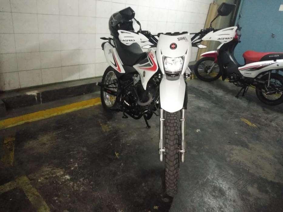 Moto Gilera Sahel