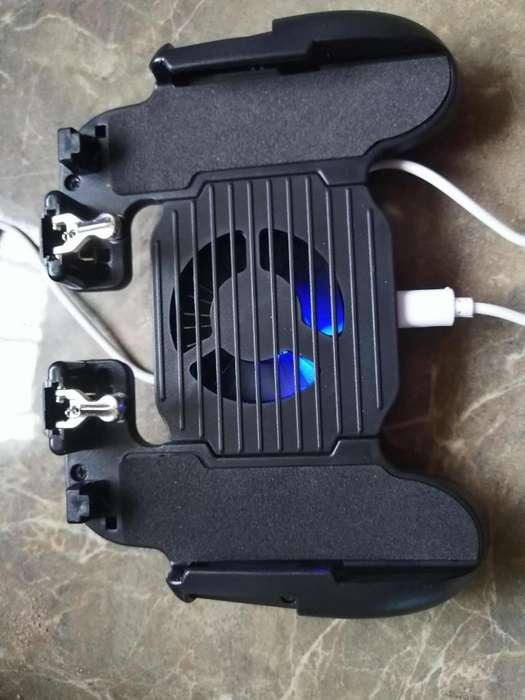 Mando con ventilador integrado