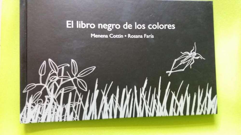 EL LIBRO NEGRO DE LOS COLORES (100 UNIDADES): NUEVOS