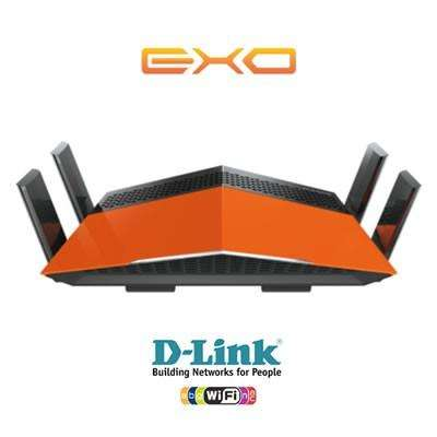 ROUTER WIRELESS WIFI DLINK EXO DIR879 AC1900 DUAL BAND GIGABIT