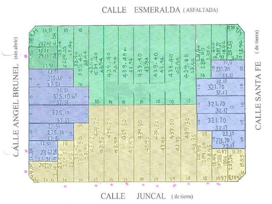 VENTA LOTES SOBRE CALLE ESMERALDA 900, BAHÍA BLANCA,PCIA DE BS AS