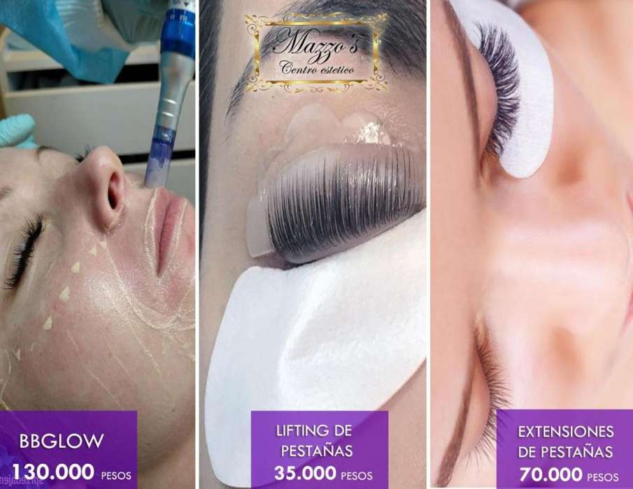 PROMOCION:BB GLOW,LIFTING DE PESTAÑAS,EXTENSION DE PESTAÑAS Y MICROPIGMENTACION