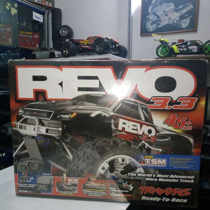 Traxxas Revo 3.3 Monster Truck Nitro Rc.