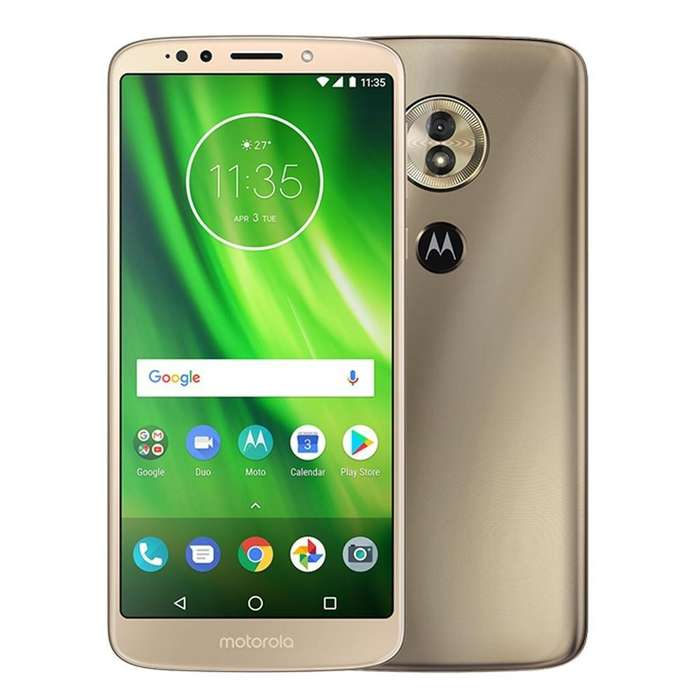 Celular Motorola G6 Play 32gb Dorado