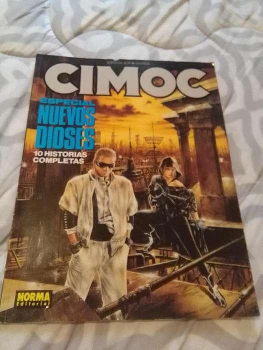 REVISTA CIMOC ESPECIAL NRO 10 HISTORIETAS NUEVOS DIOSES 1990