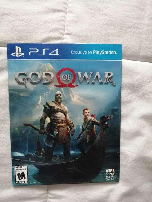 Vendo O Cambio God Of War Y Uncharted 4