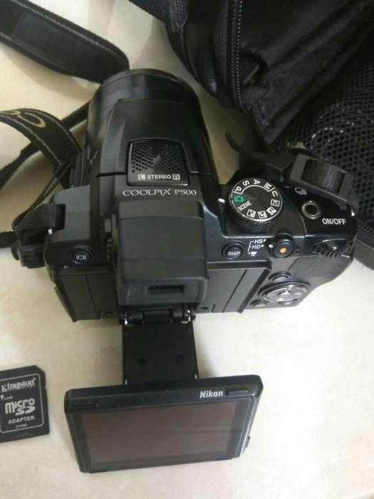 Cámara Nikon Coolpix P500