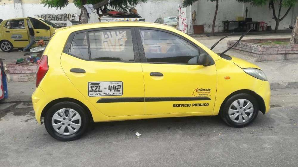 Vendo Hyundai I10 Taxi 2013 Oportunidad