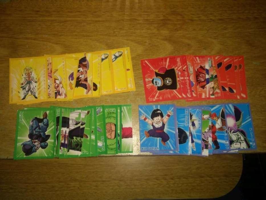 Figuritas Adhesivas de Dragon Ball Z